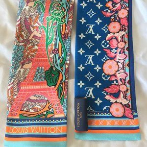 Louis Vuitton -Louis A Paris Bandeau- Silk Scarf